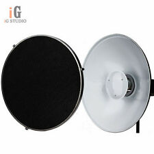 "Beauty Dish 42cm / 16"" Honeycomb Grid Bowens Mount Reflector for Flash Strobe"