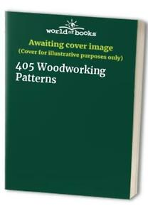 405 Woodworking Patterns Book The Cheap Fast Free Post