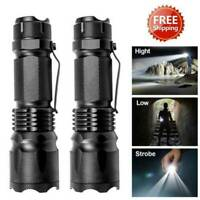 3x Portable 1200LM Zoomable Q5 LED Light Flashlight Grade Torch Handheld Lamp AU