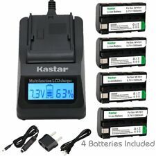 NP-FS11 Battery & Fast Charger for Sony Cyber-shot DSC-F505 F505V P1 P20 P30 P50
