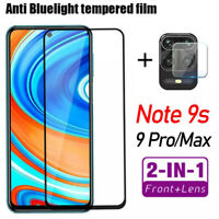Camera Lens + Screen Protector Tempered Glass For Xiaomi Redmi Note 9S 9 Pro Max