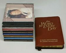 Lot of Jimmy Swaggart CD Teaching Ministry & The Word for Every Day Book