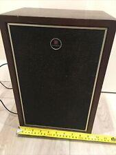 Vintage Hitachi Speaker Works Good