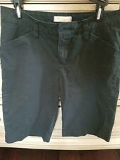 LEE ONE TRUE FIT Black Bermuda Style Shorts Size Medium