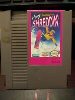 Heavy Shreddin' - Nintendo Entertainment System NES Cartridge