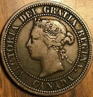 1882 H CANADA LARGE CENT PENNY