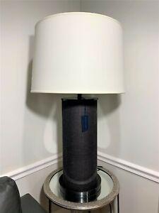 Ralph Lauren Beckfod XL Oversized Brown Table Lamp Home Office, Desk Lamp New