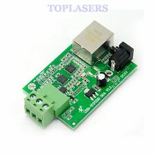 Serial RS485 Converter to Ethernet TCP/IP Module HTTPD Client Networking LAN WAN
