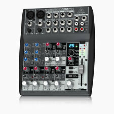 BEHRINGER XENYX 1002FX Analog Mixer 10 input 6 channel Effects & EQ Live Sound