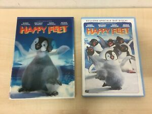 DVD HAPPY FEET ROBIN WILLIAMS MURPHY JACKMAN NICOLE KIDMAN Come Nuovo (R)