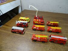 Matchbox Lesney Emergency vehicles Fire Trucks
