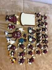 Vintage The California Raisins Mix Lot Set Of 32 Figures 1987-88 & Bread Stage