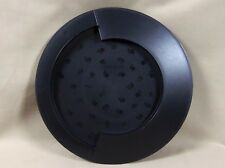 Tupperware Cheese and Cracker Serving Tray Black #3306