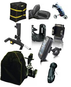 Universal Golf Trolley Accessories - Motocaddy - PowaKaddy - Push Trolleys