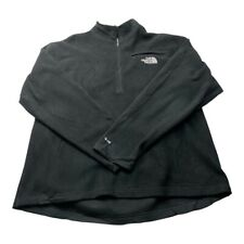 """The North Face Mens Fleece TNF Black Size Large Winter Outdoor Vintage P2P 25"""""""
