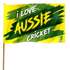 Cricket Australia GAME DAY Pole Flag Banner Fathers Day Man Cave Christmas Gift