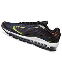 NIKE MENS Shoes Air Max Deluxe - Black, Midnight Navy & Silver - AJ7831-001