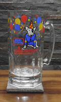 VTG Spuds MacKenzie Bud Light Beer Stein Mug Glass Rare Party Dog