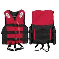 Adults Kids Life Jacket Swimming Fishing Floating Kayak Aid-Vest-S HOT P2W6