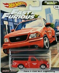 Hot Wheels Fast and Furious - Motor City Madness Ford F-150 SVT Lightning Car