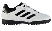 ADIDAS Goletto TF Football Boots Child Boys White/Black Size UK 12K *REFCRS37