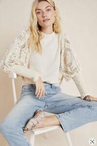 NEW $375 Anthropologie Stella Pardo Sweater Size Large