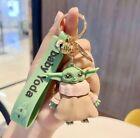 Baby Yoda Figure Keychain Accessory Pendant Star Wars Keyring New Mandalorian