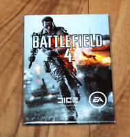 Battlefield 4 Rare Promo Magnet PS3 PS4 Xbox 360 One EA Games Dice