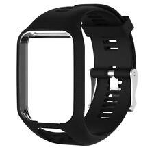 Bracelet Noir Compatible Pour Montre Tom-Tom Runner 2 3