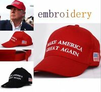 UK Donald Trump MAKE AMERICA GREAT AGAIN Cap Hat Embroidered Hats Unisex