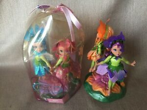 Barbie Fairytopia 2004 Flower Fairies Lot Quilla,Questina NRFB, Omma+Orgonza!