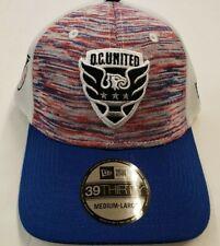 MLS D.C. United NEW ERA 39THIRTY Men's Cap - Hat Medium - Large (5910)
