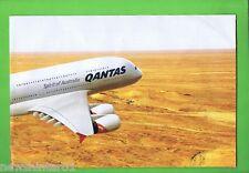 #T23. QANTAS A380 FOLDOUT PROMOTIONAL POSTER