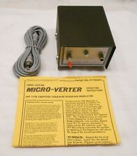 ATV RESEARCH MICRO-VERTER, MODELMVX-500, COMPUTER VIDEO TO RF MODULATOR