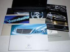 2008 Mercedes Benz S550 S550 S450 S600 S CLASS Owner Owner/'s Manual Set V6 V8 08