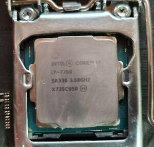 Intel i7-7700 w/Asrock Fatal1ty B250 Gaming K4 DDR4 LGA 1151 Motherboard