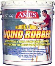 Ames 5 Gallon BWRF5 Block & Wall Liquid Rubber Waterproofing Basement Coating