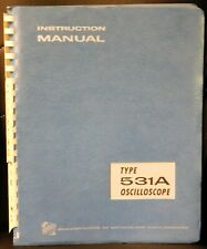 Tektronix Oscilloscope Instruction Service Manual 070 130 531a