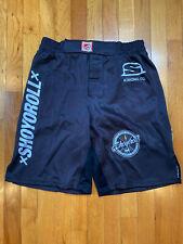 Shoyoroll Vintage Old School NoGi Training Shorts Black Large BRAND NEW
