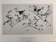 W. KANDINSKY,'UNTITLED,1941',MEGA RARE 1990's SERIGRAPH PRINT