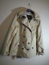 Barbour Waterproof raincoat Coat Mac Jacket Tartan hood UK 10