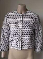 Scanlan and Theodore Stunning Textured Jacket Sz 8 Have Matching Shorts Amazing
