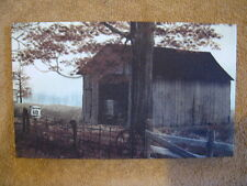 County Road Barn Farm Canvas Wall Decor Painting Small