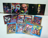 1990s Trading Card Lot of 12+ Comic Book Chase Card Set (F12032-CCLV)