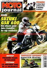 MOTO JOURNAL 1691 Essai Test SUZUKI GSR 600 KTM 640 Duke HUSQVARNA 610 YAMAHA R1