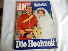 Alte Zeitschrift, Bunte vom 20.11.73