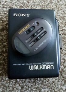 Vintage Retro Old Antique Sony Walkman wm-ex36 Personal STEREO Cassette Player