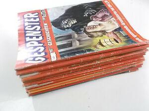 15 Stück Gespenster Geschichten Sammelband Sammelbände ab Nr.6 Bastei Verlag