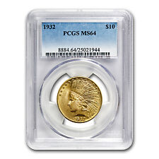 $10 Indian Gold Eagle MS-64 PCGS (Random) - SKU #21693