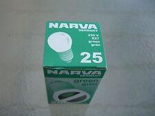 NARVA  Bombilla 25W E27 230v Verde Green